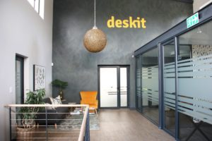 Deskit wall and boardroom