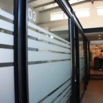 Glass dividers and offices